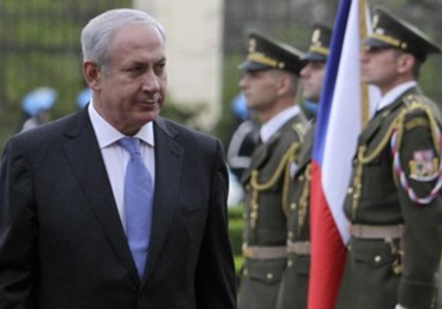 Netanyahu in Prague