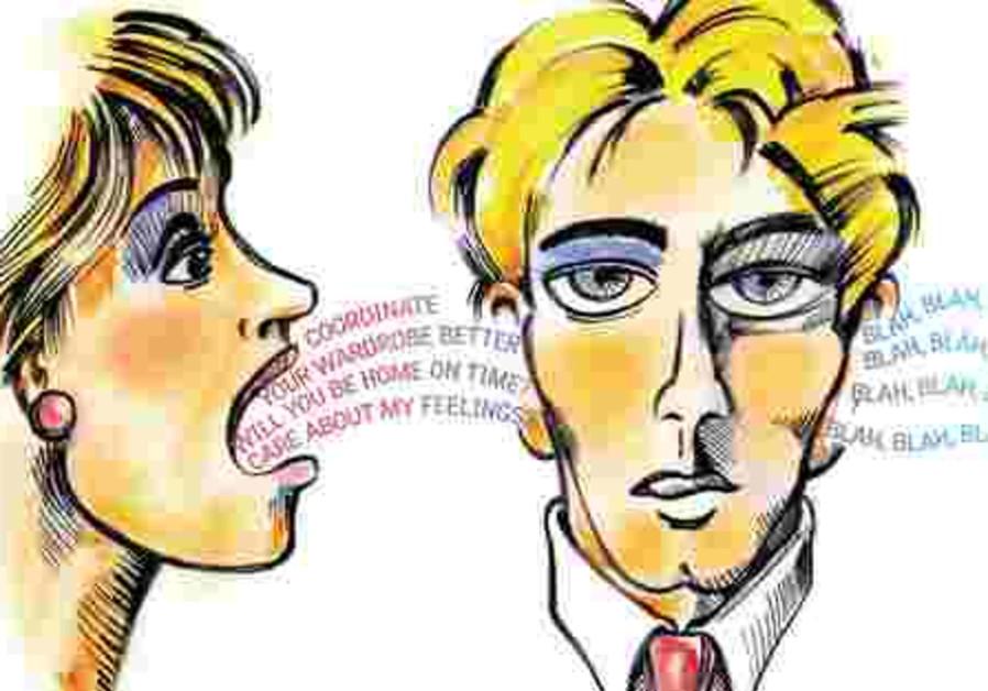 Women win hands down in the nagging department