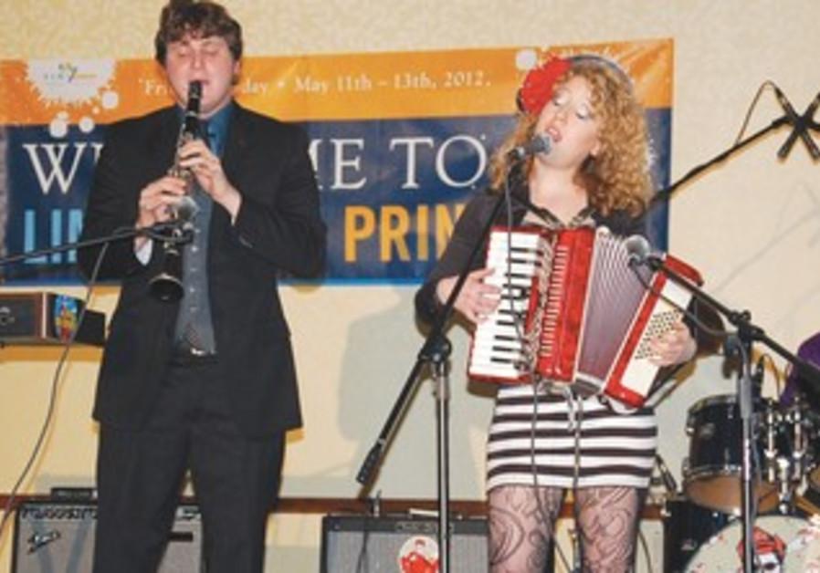 Mira Stroika performs