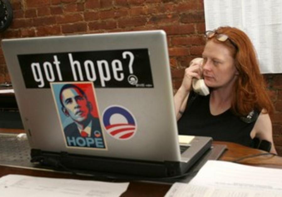 Obama campaign volunteer [file photo]
