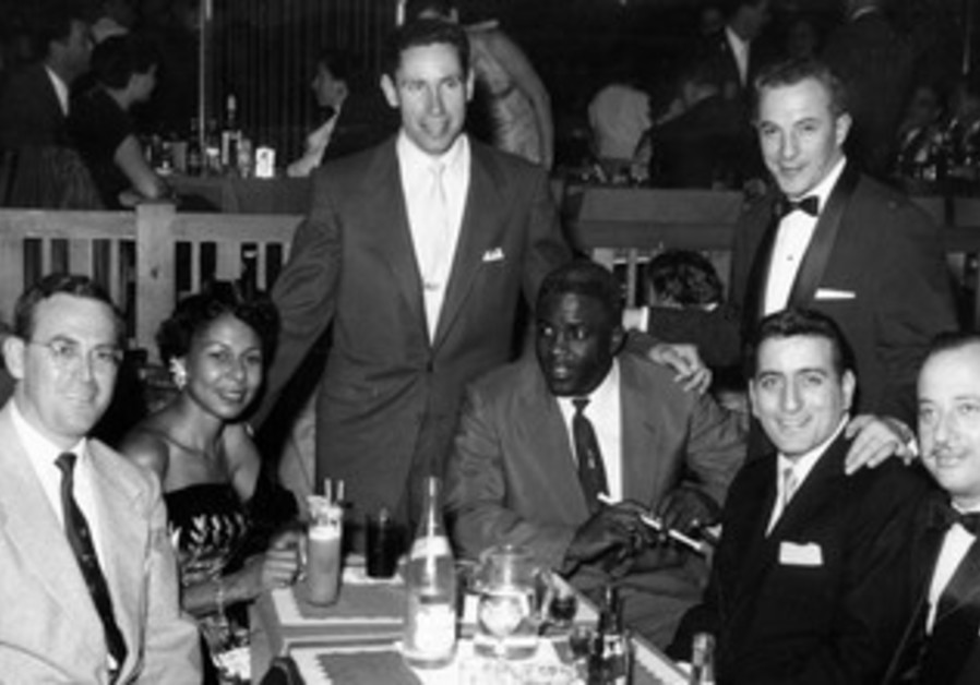 Jackie Robinson at Grossinger's hotel