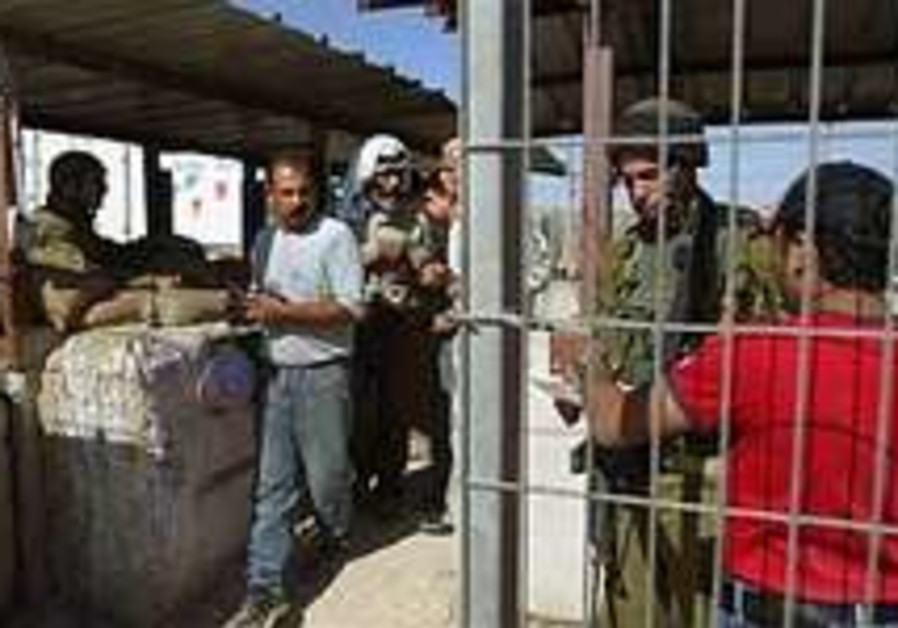 IDF soldier stabbed at Jenin checkpoint