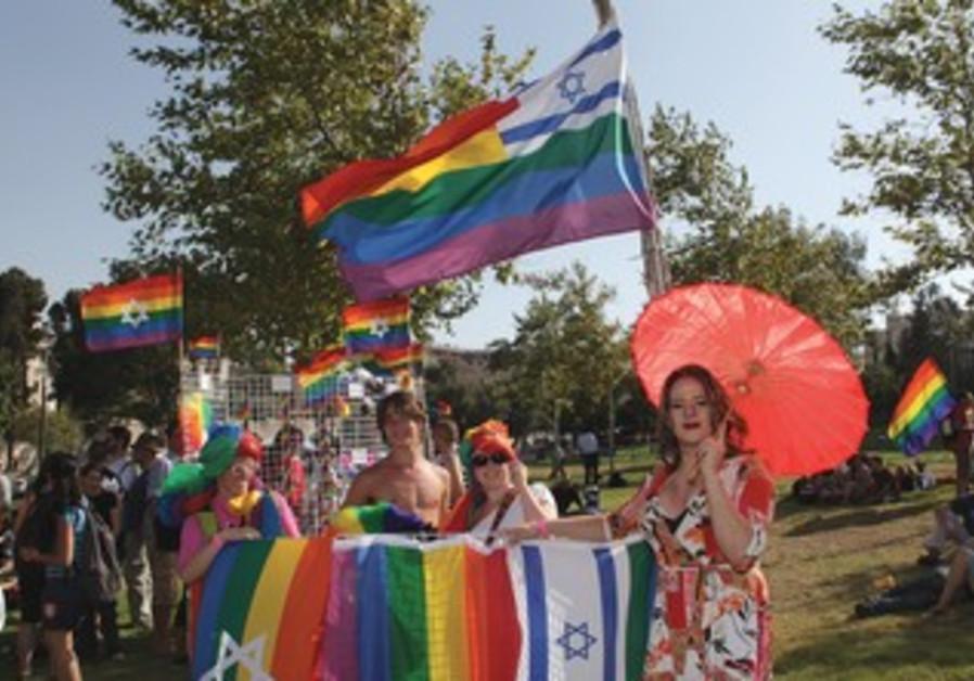 Israelis at the Gay Pride Parade