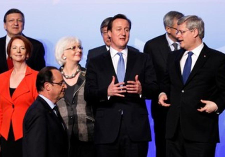World leaders convene at NATO summit in Chicago