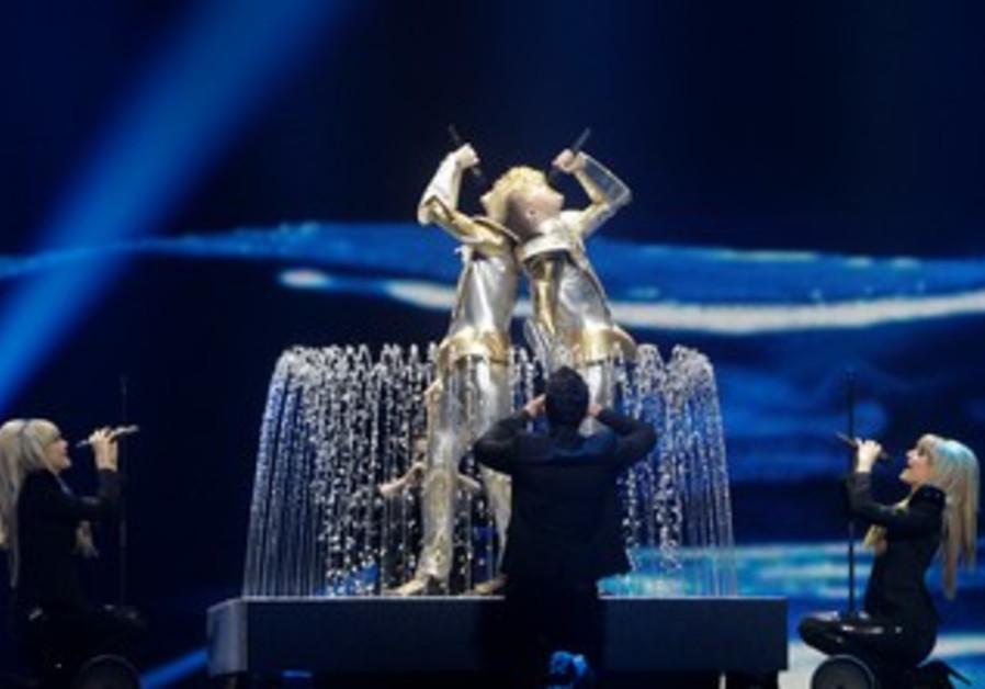 Eurovisin rehearsals in Azerbaijan