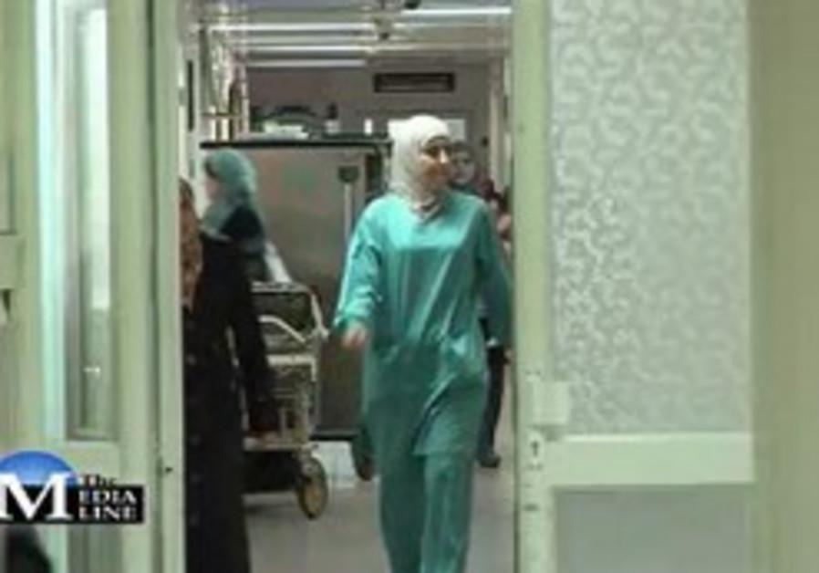 A Doctor in Al-Makassed Hospita
