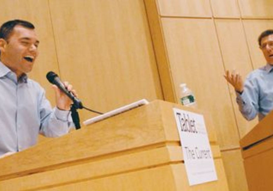 Peter Beinart and Daniel Gordis debate