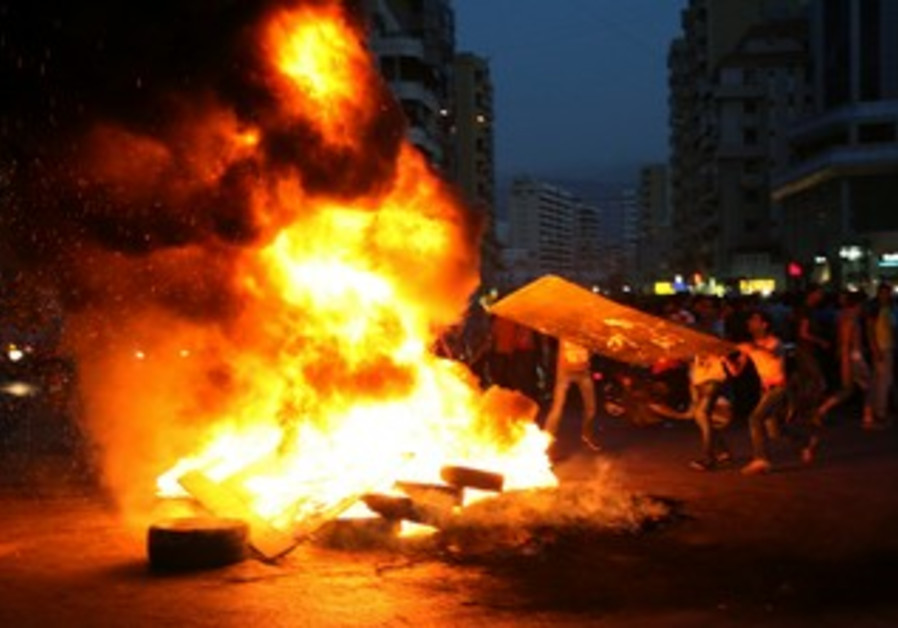 Lebanese Shi'ites protest Syria kidnappings