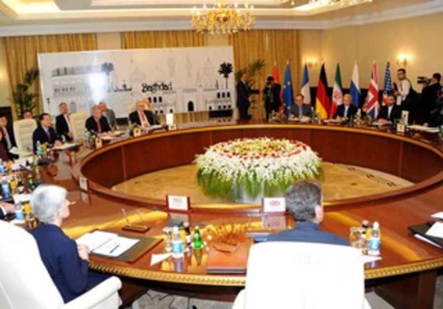 Iran- P5+1 nuclear negotiations in Baghdad