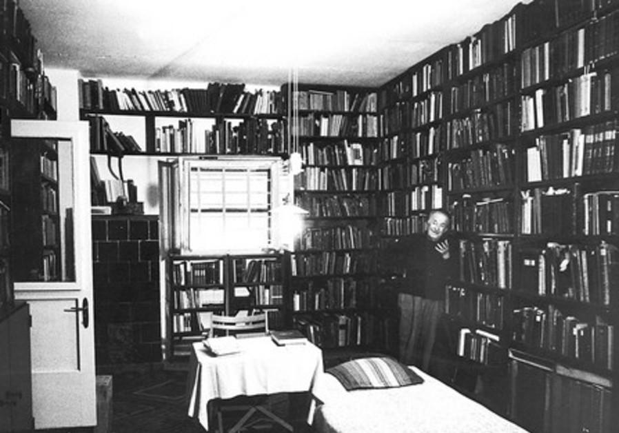 SY Agnon's library