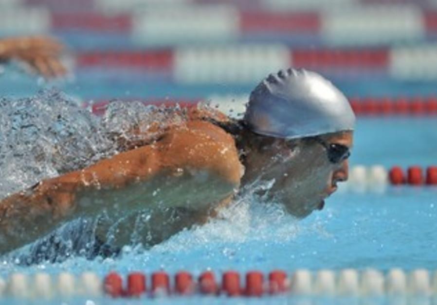 Man swimming [illustrative]