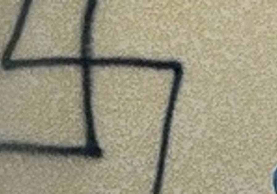 Hand-drawn swastika found in Department of Homeland Security headquarters