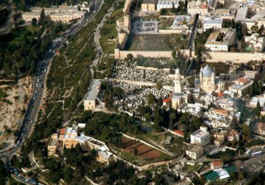 Mount Zion aerial view from south