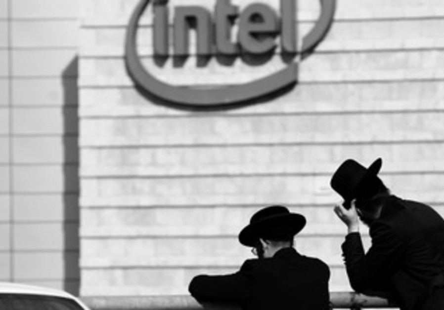 Haredi men, Intel (B&W)