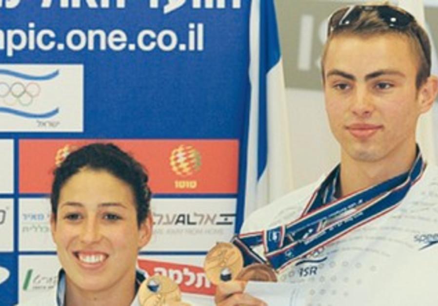 Amit Ivri (left) and Yakov Toumarkin