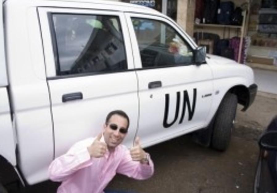 """Ami Horowitz, director of """"U.N. Me."""""""