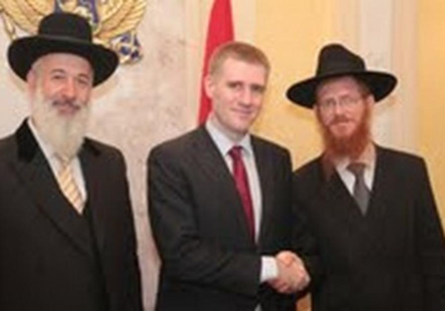 Montenegro PM, Rabbis
