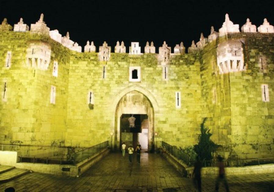 Jerusalem Light Festival, Damascus Gate