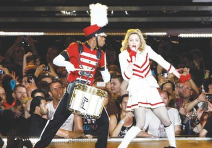 Madonna wows crowd at Ramat Gan Stadium