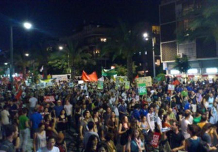 Tel Aviv social justice protest [file]
