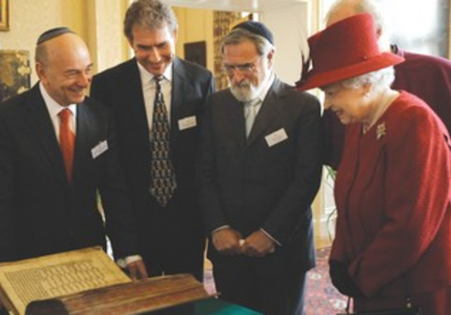 Queen Elizabeth, Rabbi Sacks