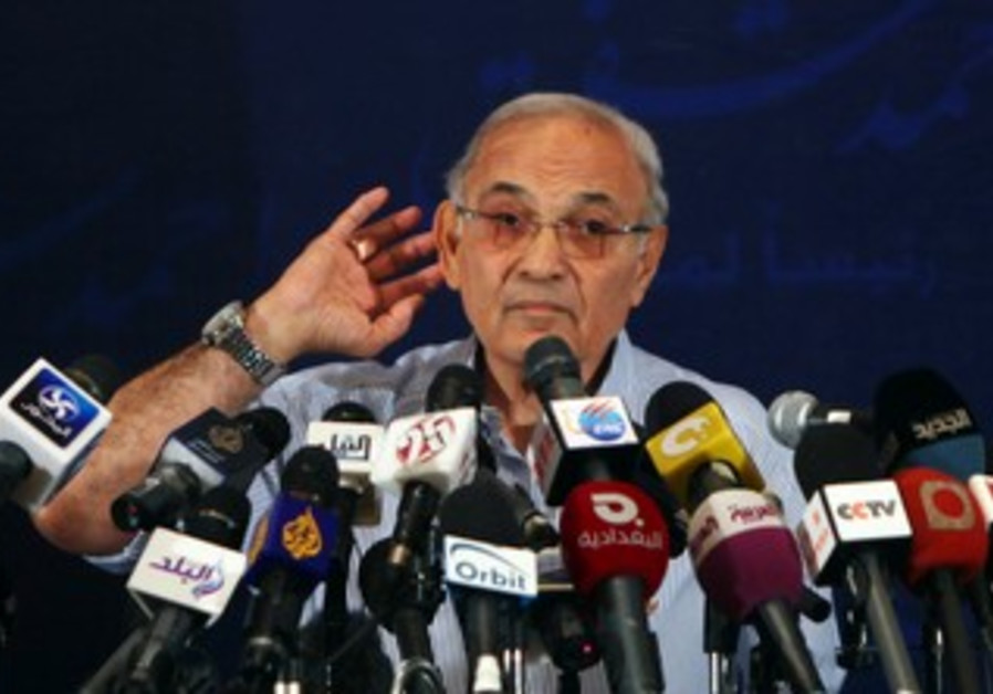 Egyptian presidential candidate Ahmed Shafik
