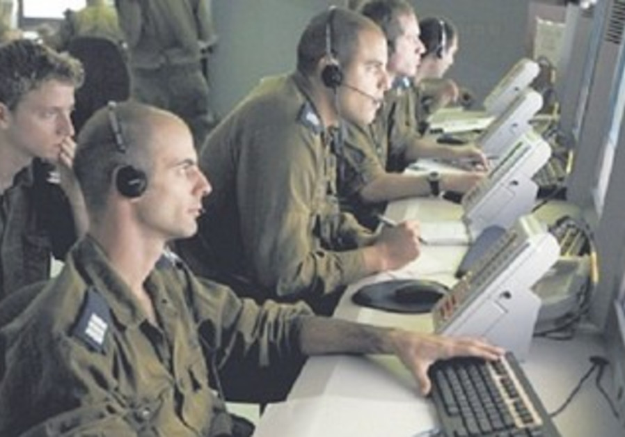 IDF soldiers engaged in cyber security