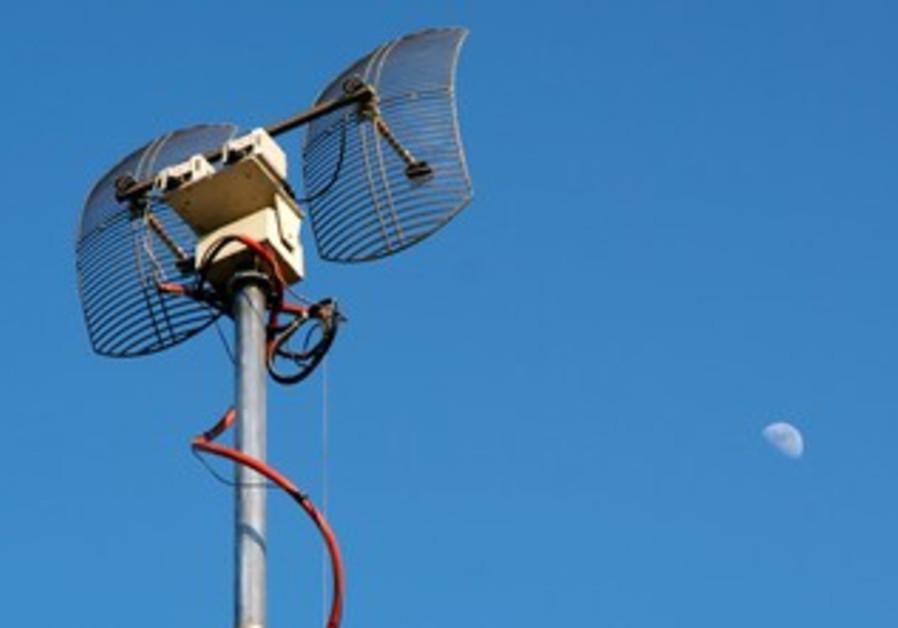 TV emitter antenna