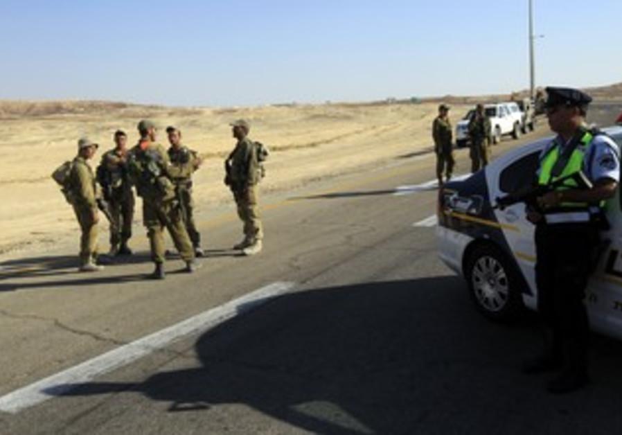 IDF patrol in South [file]