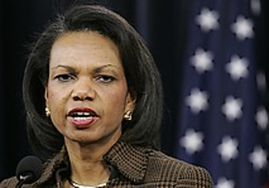 Rice says Bush administration was upfront about Iraq war