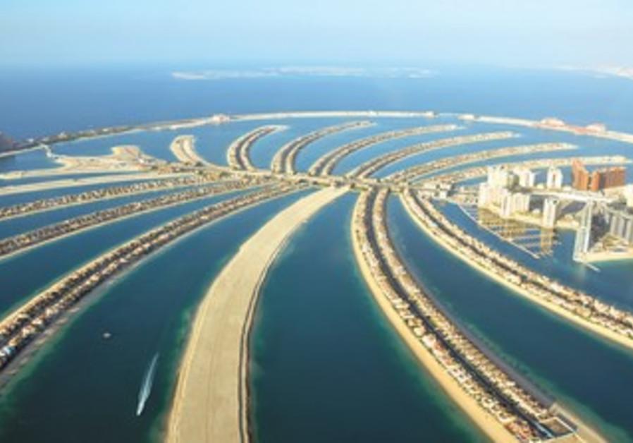 Artificial islands in Dubai