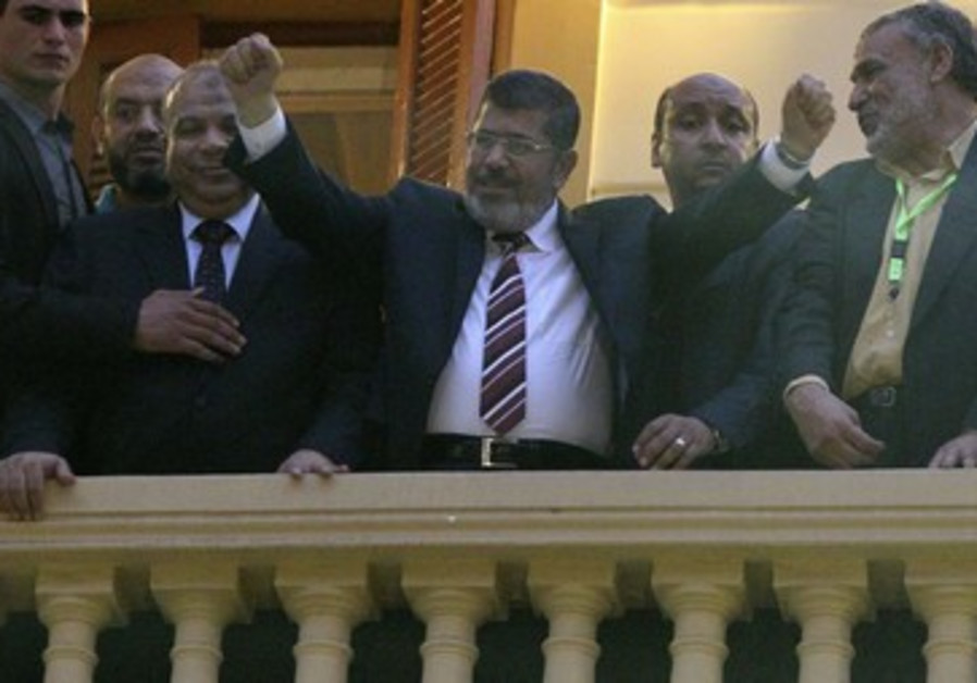 Muslim Brotherhood's Mohamed Morsy