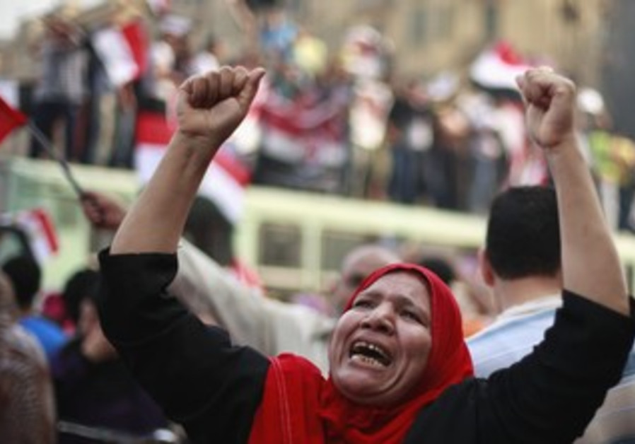 Morsy supporters celebrate self-declared vote win