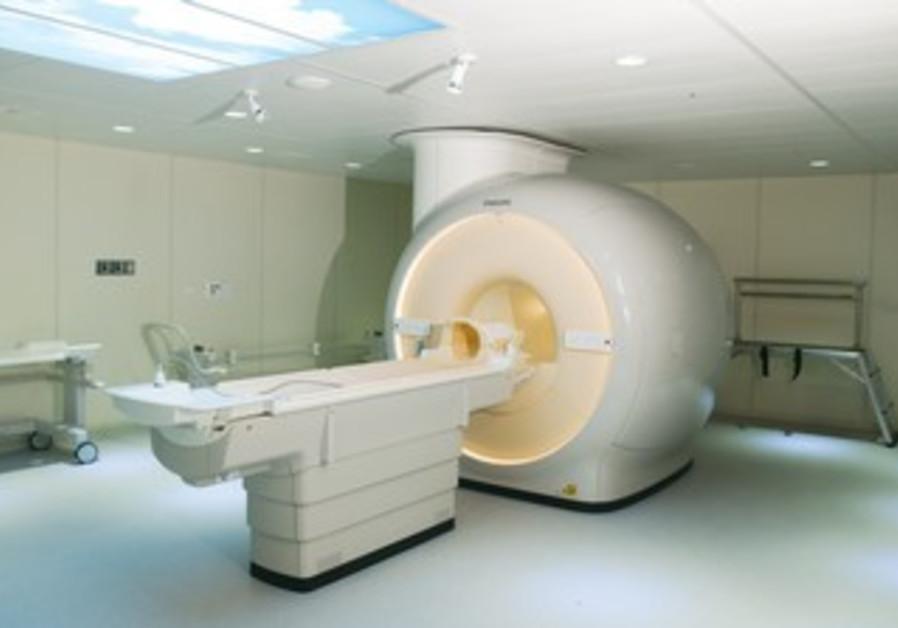 BEERSHEBA'S NEW MRI scanner
