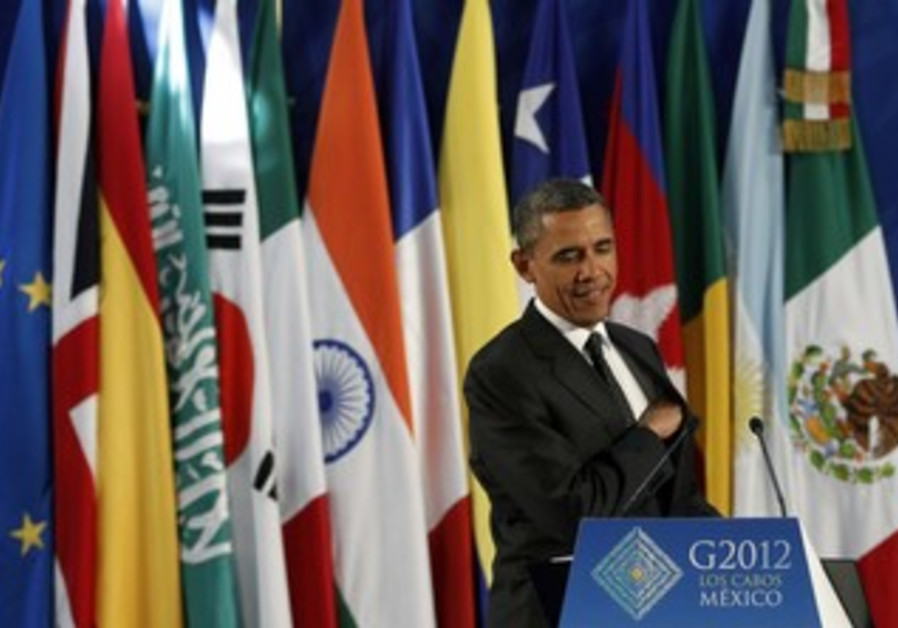 Obama at Group of 20 summit