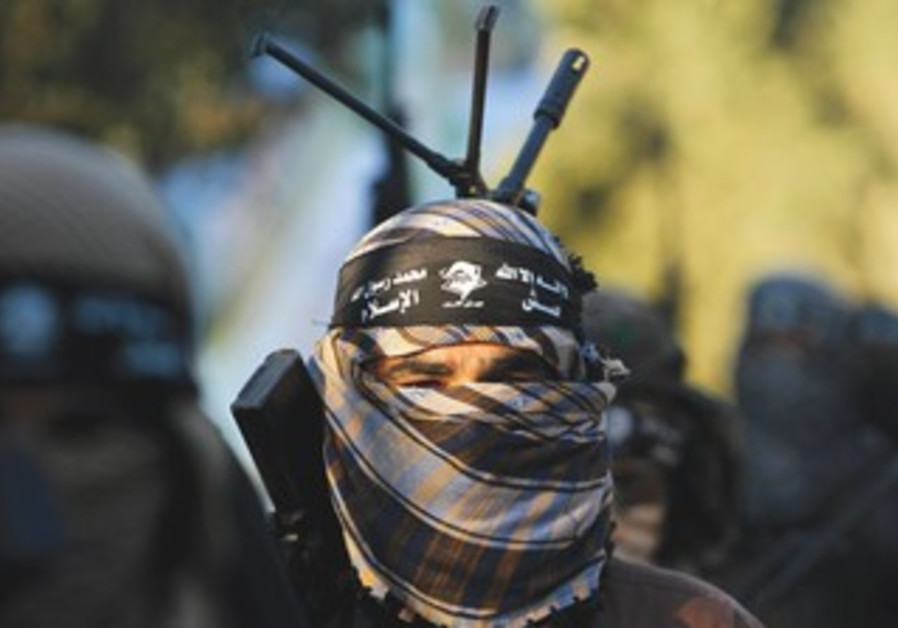 Army of Islam militant in Gaza