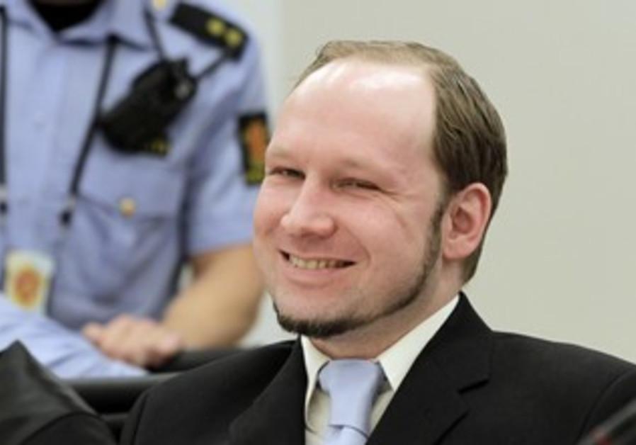 Breivik smiling on last day of trial