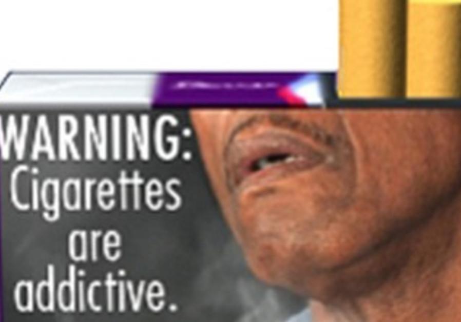 Proposed FDA cigarette warning