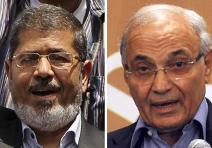Mohamed Morsy and Ahmed Shafik