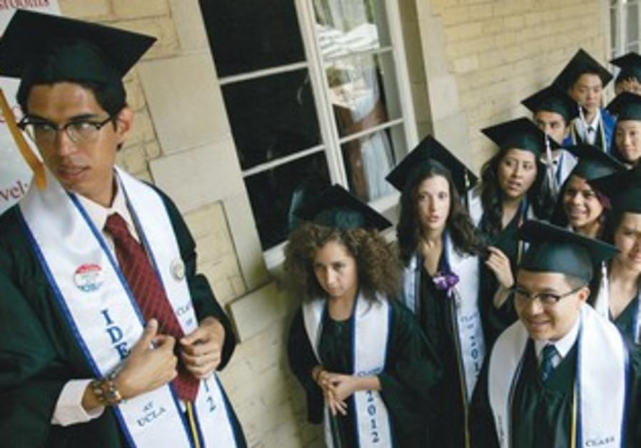 Undocumented students graduate at UCLA