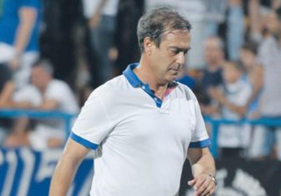 IRONI KIRYAT SHMONA coach Gili Landau