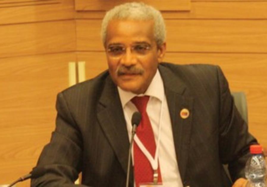 Eritrean Ambassador Tesfamariam Tekeste