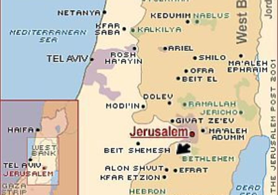 gush etzion map 298