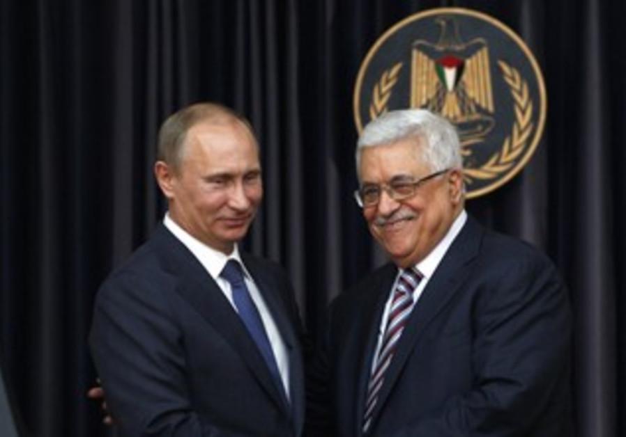 PA President Abbas meets Putin in Bethlehem