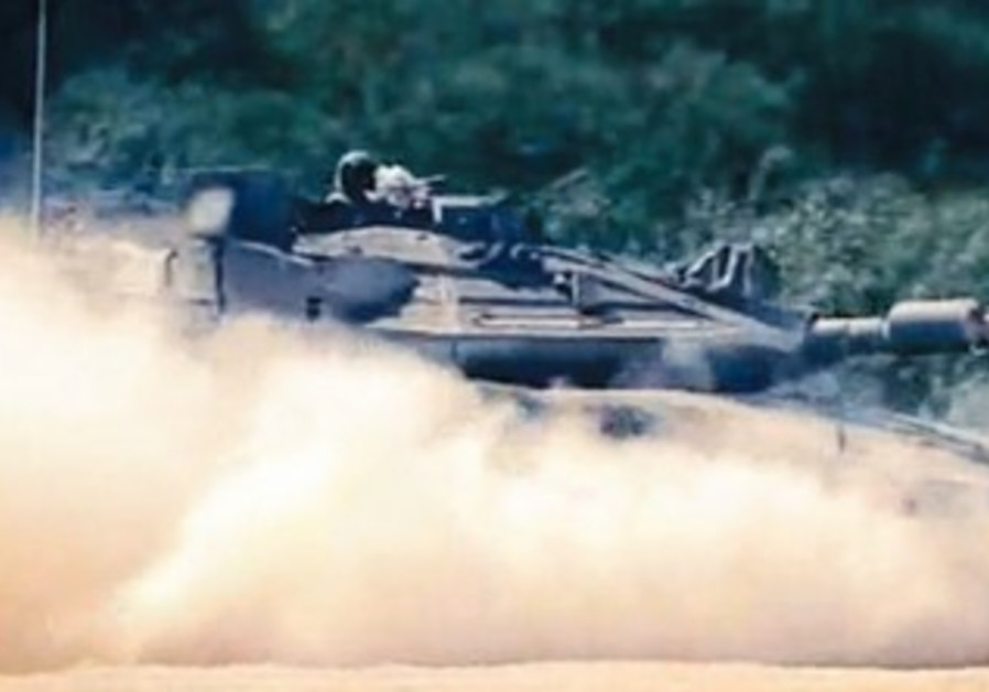 THE TROPHY active protection system