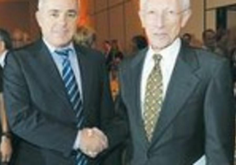 Yuval Steinitz and Stanley Fischer
