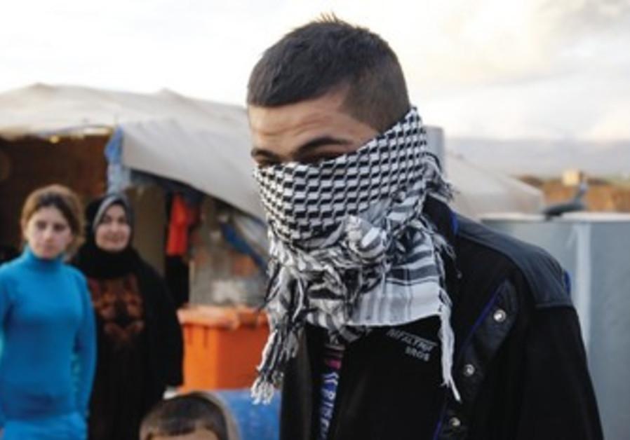 A Syrian Kurd refugee in Iraq