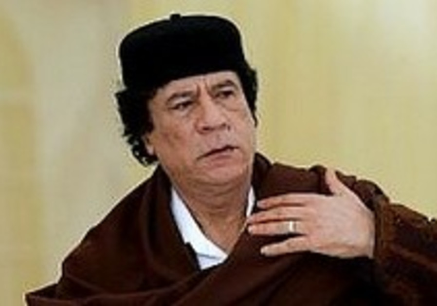 Gaddafi: Foreign forces, including Israel, behind Darfur conflict