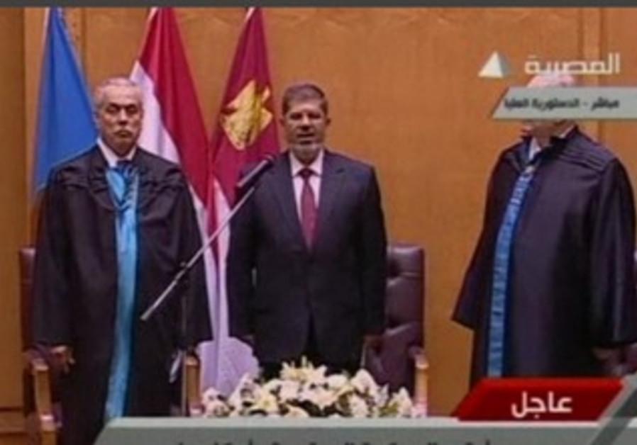 Mohamed Mursi sworn in as Egypt's president