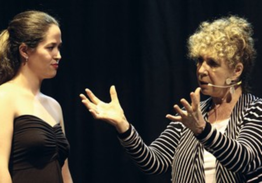 Opera coach Joann Dornemann with participant